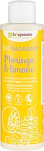"Парфюмерия и Козметика Балсам за коса ""Моринга и лимон"" - La Saponaria Bio Balsamo Moringa & Limone"