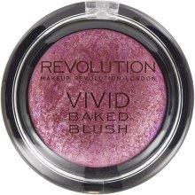 Парфюми, Парфюмерия, козметика Печен руж за лице - Makeup Revolution Vivid Baked Blush