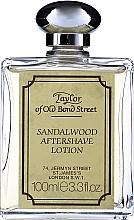 Парфюмерия и Козметика Taylor Of Old Bond Street Sandalwood Aftershave Lotion Alcohol-Based - Лосион след бръснене