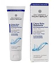 Парфюмерия и Козметика Хидратиращ крем за лице с термална вода - Montbrun Peaux Seches A Tres Seches
