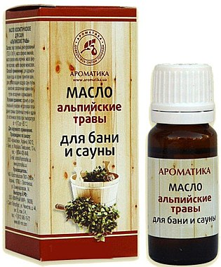 """Етерично масло за вана и сауна """"Алпийски билки"""" - Ароматика — снимка N1"""