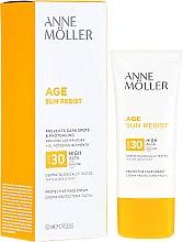 Парфюмерия и Козметика Слънцезащитен крем за лице - Anne Moller Age Sun Resist Protective Face Cream SPF30