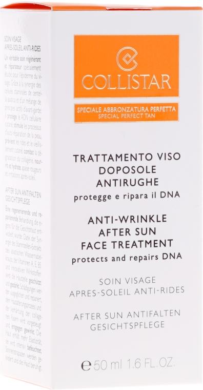 Крем за след слънце против бръчки - Collistar Antiwrinkle After-Sun Face Treatment — снимка N2