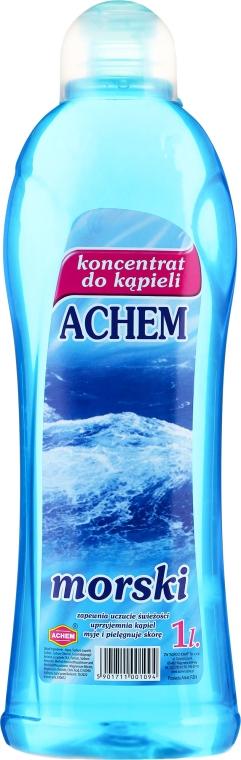 Концентрирана пяна за вана с аромат на море - Achem Concentrated Bubble Bath Sea