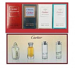 Парфюмерия и Козметика Cartier Gist Set - Комплект тоалетна вода (edt/4ml + edt/2x5ml + edp/5ml)