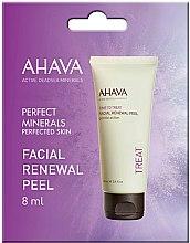 Парфюмерия и Козметика Ексфолиращ гел за лице - Ahava Time to Treat Facial Renewal Peel (мостра)