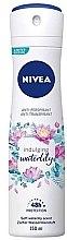 Парфюми, Парфюмерия, козметика Спрей антиперспирант - Nivea Soft Waterlily Antyperspirant Spray