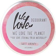 "Парфюмерия и Козметика Натурален кремообразен дезодорант ""Sweet Serenity"" - We Love The Planet Deodorant Sweet Serenity"