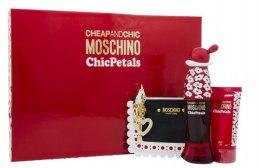 Парфюми, Парфюмерия, козметика Moschino Cheap And Chic Chic Petals - Комплект (edt/50ml + b/lot/50ml + bag)