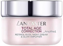 Парфюми, Парфюмерия, козметика Антистареещ нощен крем - Lancaster Total Age Correction Amplified Retinol -In-Oil Night Cream