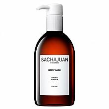 Парфюмерия и Козметика Хидратиращ и успокояващ душ гел с аромат на бергамот и лимон - Sachajuan Ginger Flower Body Wash