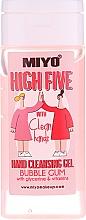 Парфюмерия и Козметика Почистващ гел за ръце - Miyo Bubble Gum High Five Hand Cleansing Gel