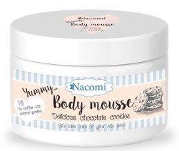 """Парфюмерия и Козметика Мус за тяло """"Шоколадови бисквити"""" - Nacomi Body Mousse"""