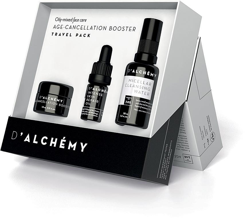 Комплект за лице - D'Alchemy Travel Pack (бустер/15ml + масло/5ml + мицел. вода/30ml) — снимка N1