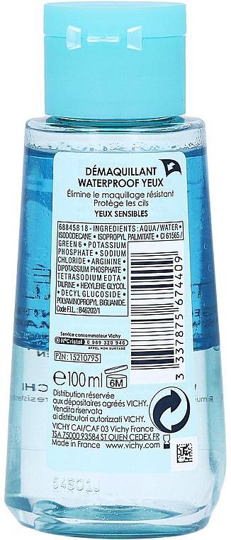 2в1 лосион за почистване на грим - Vichy Purete Thermale Waterproof Eye Make-Up Remover — снимка N3