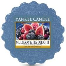 Парфюмерия и Козметика Ароматен восък - Yankee Candle Mulberry & Fig Delight Wax Melts