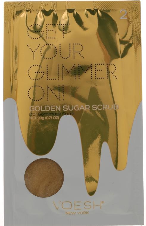 Педикюрен комплект - Voesh Deluxe Golden Glimmer Pedi In A Box 5 in 1 — снимка N2