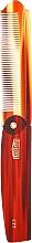 Парфюмерия и Козметика Сгъваем гребен - Uppercut Deluxe CT7 Tortoise Flip Comb