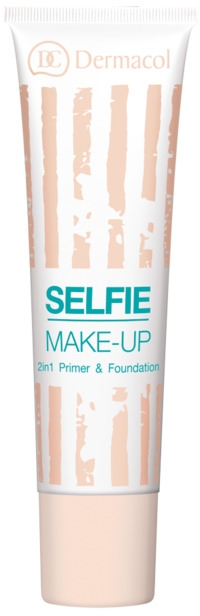 Основа и фон дьо тен 2 в 1 - Dermacol Selfie Make-up 2-in-1 Primer & Foundation