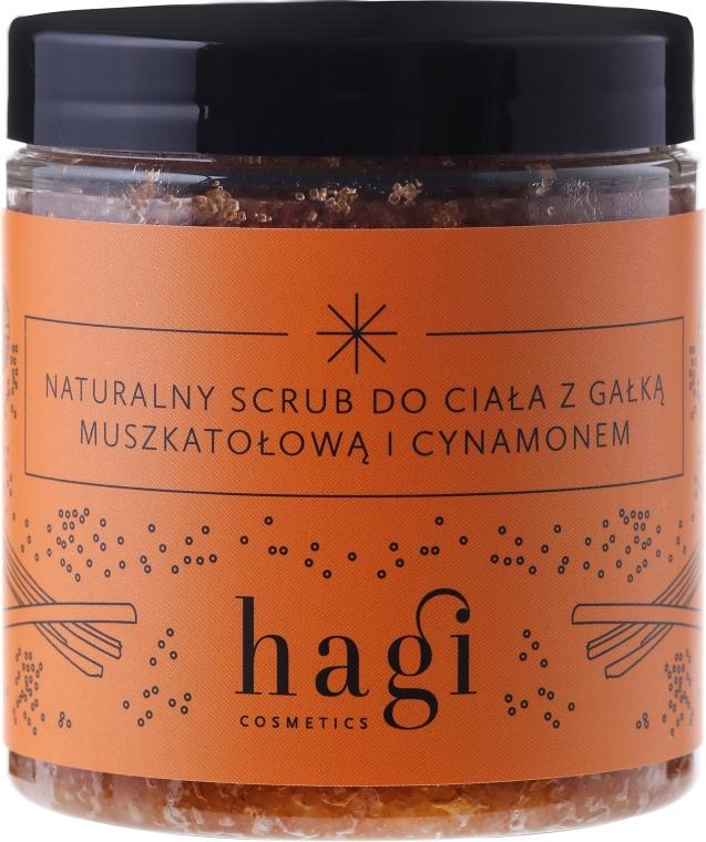 Натурален скраб за тяло с индийско орехче и канела - Hagi Scrub