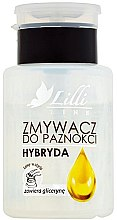 Парфюмерия и Козметика Лакочистител - Lilli Line Hybrid Nail Polish Remover