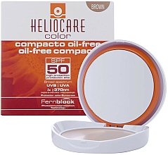 Парфюмерия и Козметика Компактен крем-пудра за мазна и комбинирана кожа - Cantabria Labs Heliocare Color Compact Oil-Free Spf 50