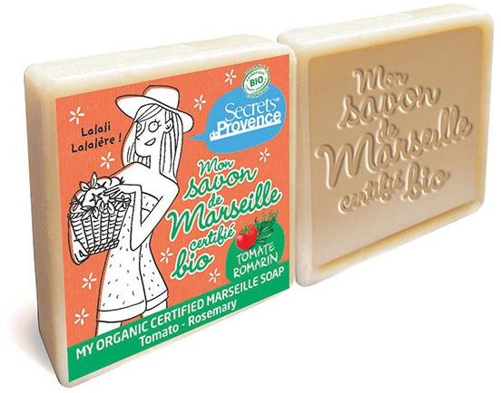 Комплект сапуни - Secrets De Provence My Marseille Soap Tomato-Rosemary (2x100g)  — снимка N1