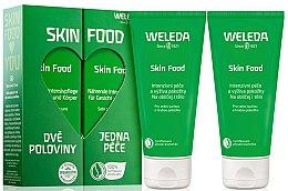 Парфюмерия и Козметика Комплект за лице и тяло - Weleda Skin Food (f/b/cr/75ml + f/b/cr/75ml)