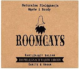 Парфюмерия и Козметика Балсам за мустак и брада с масло от ший - Roomcays