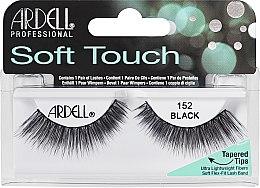 Парфюмерия и Козметика Изкуствени мигли - Ardell Soft Touch Eye Lashes Black 152