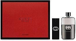 Парфюми, Парфюмерия, козметика Gucci Guilty Eau Pour Homme - Комплект (edt/90ml + edt/30ml)