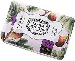 Парфюмерия и Козметика Сапун - Panier Des Sens Extra Gentle Natural Soap with Shea Butter Wild Fig