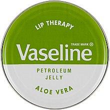 """Парфюмерия и Козметика Балсам за устни """"Алое"""" - Vaseline Lip Therapy Aloe Vera Lips Balm"""