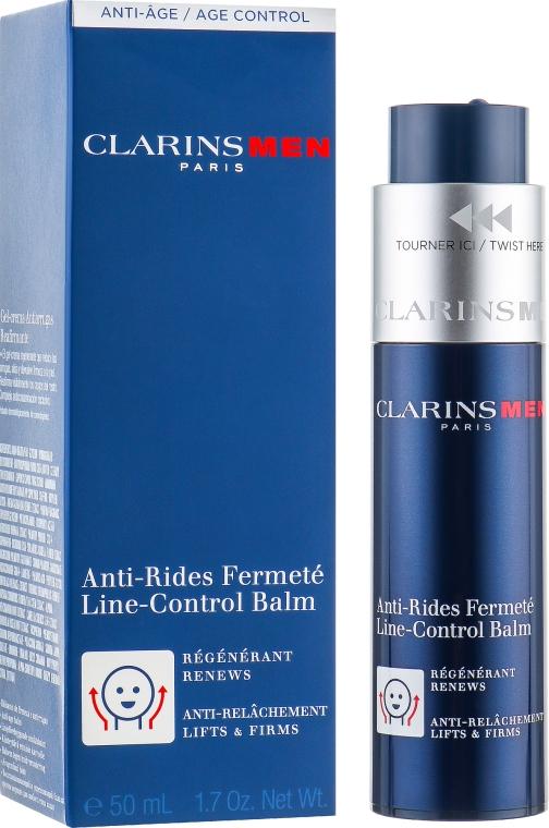 Балсам за лице против стареене - Clarins Men Line-Control Balm — снимка N1