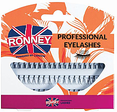 Парфюми, Парфюмерия, козметика Комплект изкуствени мигли на снопчета - Ronney Professional Eyelashes 00030