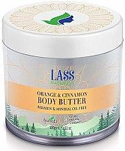 Парфюмерия и Козметика Аюрведичен сапун за тяло с портокал и канела - Lass Naturals Orange & Cinnamon Body Butter