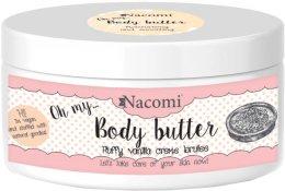Парфюми, Парфюмерия, козметика Масло за тяло с бадем и ванилия - Nacomi Body Butter Fluffy Vanilla Creme Brulee