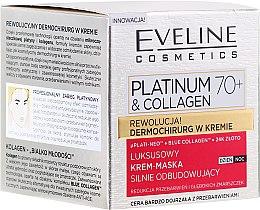 Парфюми, Парфюмерия, козметика Крем-маска за лице - Eveline Cosmetics Platinum & Collagen Luxury Cream-Mask