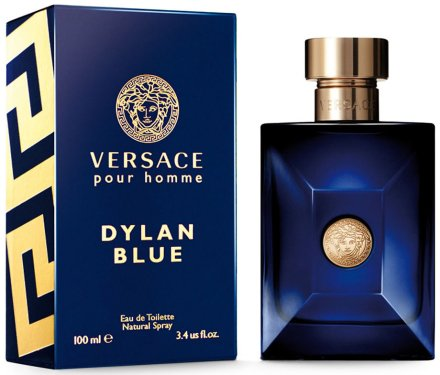 Versace Pour Homme Dylan Blue - Тоалетна вода — снимка N1