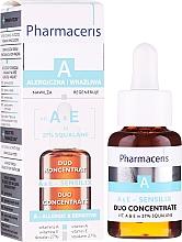 Парфюмерия и Козметика Концентрат за лице с витамин А и Е - Pharmaceris A A&E Sensilix Duo Concentrate