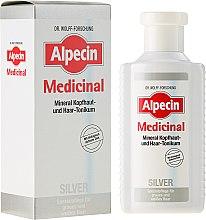 Парфюми, Парфюмерия, козметика Тоник за сива коса, против жълти отенъци - Alpecin Medicinal Silver