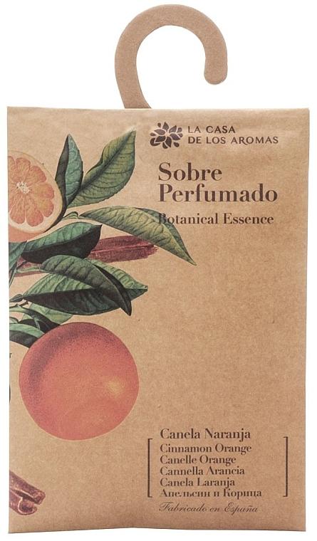 """Ароматно саше """"Портокал и канела"""" - La Casa de Los Botanical Essence Cinnamon Orange — снимка N1"""