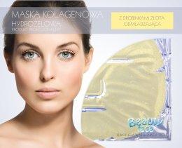 Парфюмерия и Козметика Колагенова маска с частици злато - Beauty Face Collagen Hydrogel Mask