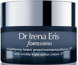 Парфюми, Парфюмерия, козметика Антистареещ нощен крем за лице - Dr Irena Eris Fortessimo Anti-wrinkle Triple Action Cream