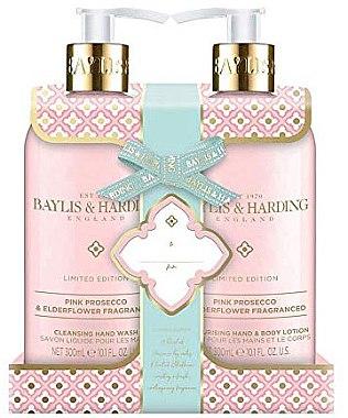 Комплект за тяло - Baylis & Harding Prosecco & Elderflower ( течен сапун/300ml + лосион за лице и тяло/300ml)