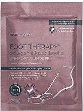 Парфюми, Парфюмерия, козметика Педикюрные носочки с морским коллагеном - BeautyPro Foot Therapy Collagen Infused Bootie