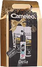 Парфюмерия и Козметика Комплект за коса - Delia Cameleo (шамп./250ml + балсам/200ml + сух шамп./50ml)