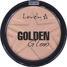 Парфюми, Парфюмерия, козметика Пудра за лице - Lovely Golden Glow Powder