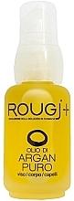 Парфюмерия и Козметика Арганово масло за лице, тяло и коса - Rougj+ Pure Argan Oil