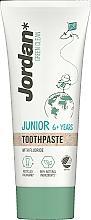 Парфюмерия и Козметика Паста за зъби, 6-12 год. - Jordan Green Clean Junior